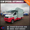 Carro caliente del helado de la venta del vehículo móvil de los alimentos de preparación rápida 4*2 para la venta
