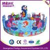 Matériel animal de cour de jeu de carrousel de conduite d'océan de jouet d'enfants