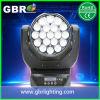 LEIDENE van het Aura van de Straal 19PCS*15W van Gbr Bewegende HoofdVerlichting met Gezoem