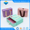 Собственный творческий материал подарочная упаковка бумаги лоток в салоне с помощью рукоятки