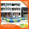 Trampolines al aire libre inflables del Foursome del equipo del juego para la venta