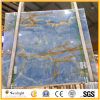 Onyx azul natural translúcido para el suelo de la pared
