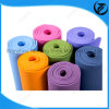 Confortável Eco-Friendly Anti Slip Dual / EVA / TPE / PVC Color Nature Rubber Yoga Mat