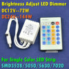 IR 24 Key Control Remoto Universal solo color LED Dimmer