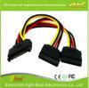 Macht 4 Speld Molex van winde aan de Kabel van de Splitser van de Macht van SATA 2 Serial ATA