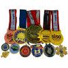 Venda a quente de metais Desportivo Medalha Carnaval maratona em execução caso Clip
