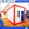 Estructura de acero prefabricada que construye casas modulares del envase de la oficina del envase