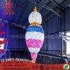 Het LEIDENE 3D Licht van de Ramadan voor OpenluchtDecoratie