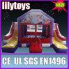 lilytoys opblaasbaar spronghuis met sldie voor 2013
