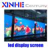 Cor completa Piscina Interior ou sinal publicitárias fixas de bicicleta LED de Vídeo Tela LED de parede