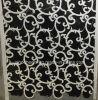 Un sol en marbre noir blanc mosaïque mixtes