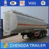 Tank van de Olie van het Type van Aanhangwagen van de Tanker van de brandstof de Vervoer Gebruikte voor Verkoop