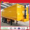 30-40 toneladas de Transporte de arena Remolque basculante con bomba hidráulica