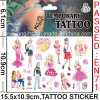 De waterdichte Tijdelijke Sticker van de Tatoegering (CG064)
