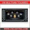 Автомобиль DVD для Vw Multivan Touareg с интернетом Dual Core 1080P V-20 Disc WiFi 3G набора микросхем A8 (CY-C042)