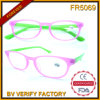 Fr5069 Hotsale 2015 Últimas Diseñado Ultra Thin Plastic Frames Reader Merchandising de China