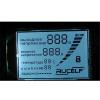 Индикация цифров LCD соединения Pin