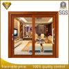 Алюминий боковой сдвижной двери с двойным закаленного стекла на балкон