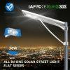 Verlichting van de Straat van de Legering van het aluminium 30W de Zonne met de Hoge Capaciteit van het Lithium