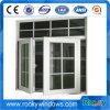 Flügelfenster-Aluminiumfenster mit dem Querbalken hergestellt in China