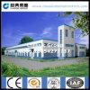 Edificio de dos pisos prefabricado de la estructura de acero