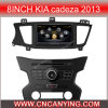 GPS를 가진 8inch KIA Cadeza 2013년, Bluetooth를 위한 특별한 Car DVD Player. A8 Chipset Dual Core 1080P V-20 Disc WiFi 3G 인터넷 (CY-C237로)