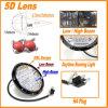 5W 5D Reflector 7  7inch Round Osram LED Headlight、Headlamp、Jeep Wrangler Hummer Car Vehicle Working LightのためのSuper BrightのHigh Low Beam