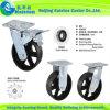 Kaiston Fertigung-Hochleistungsmetallfußrollen