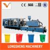Cheio-Auto máquina servo da modelação por injeção para o balde do lixo plástico
