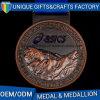Personalizzare la medaglia di sport del metallo dei premi di funzionamento di formato per gli eventi