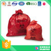 Hot Sale Red Large Capacity Biohazard Bag avec impression