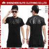 T-shirts en cuir bon marché de la mode des hommes en gros (ELTMTI-50)