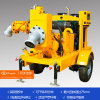 Hohe Selbstgrundieren-Vertiefungs-Punkt-Pumpe, mobile Emergency Pumpe, Vertiefung, die Abwasser-Pumpe zeigt