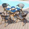 Для использования вне помещений удобный рычаг плетеной стул для кафе и в саду (SP-OC523)