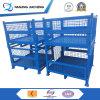 Paletta a cassa del metallo/contenitori di carico d'acciaio utilizzati da vendere il contenitore di memoria dello scomparto metallo/