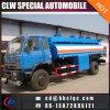Dongfeng 2400gallonのオイルタンクのトラックは石油タンカーのトラックに燃料を補給する