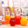 Haute qualité 500ml 38mm Calibre boire du jus Boissons Ampoule bouteille en plastique PET