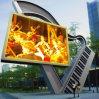Visualización de LED al aire libre a todo color P10 del RGB, cartelera que hace publicidad de la pantalla del LED