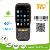 Android 5.1 Hand2d Qr Codeleser OS-mit 4G, GPRS, WiFi, Bluetooth, RFID