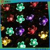 Luzes solares da corda do diodo emissor de luz da decoração ao ar livre