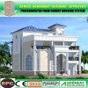 Villa préfabriquée élégante à trois niveaux légère de structure métallique