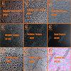 De Additieven van de Textuur & van de Structuur van de kunst, Hammertone, Rimpel, Waterlijn, Flowerdot, Zand, Barst voor de Elektrostatische Verf van het Poeder