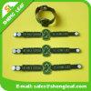 3D Embossed Logo Soft PVC Rubber Bracelet für Kids