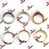 Lockets ronds en acier d'acier inoxydable de couleur/de couleur or Color/Gold de Rose (LSK60128)