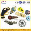 Zubehör-kundenspezifisches Firmenzeichen-Metallreverspin-Abzeichen mit weichem Decklack