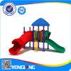 Apparatuur van de Speelplaats van de Tuin van het Spel van het kind de Plastic Openlucht (YL22495)