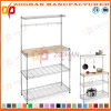 Chrome Home Kitchen Wire Shelving Stand (Zhw23)