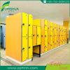 Laminado compacto HPL Escuela de almacenamiento armario de metal