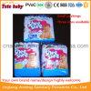 Commerce de gros bébé jetables de couleur Shee Shee Diaper usine en Chine