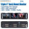 Монитор дюйма TFT LCD триппеля 5